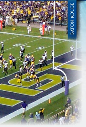 LSU Baton Rouge web design